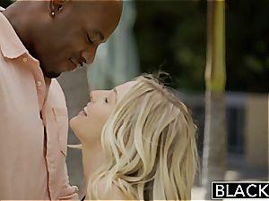 BLACKED first bi-racial 4some for fantastic Blondes Karla Kush and Jillian Janson