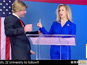 Cherie Deville takes a bouncing rail in politics