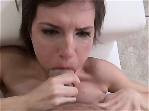 Nina gets a utter fountains of fresh jizz from Rocco Siffredi