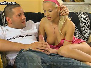 steamy blondie Lily Pinkerton being pulverized hard