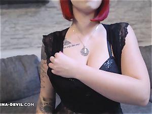 molten Nina in fabulous undergarments