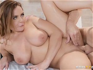 Natasha lovely taking in stiff