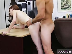 fat ballsack Jenny Gets Her donk boned At The Pawn Shop