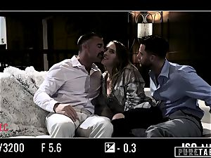 pure TABOO stunner Tricked Into vengeance three-way with Strangers