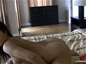 Home vid getting off with London Keyes