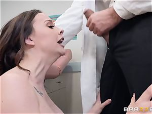 Chanel Preston takes a excursion to the doctors