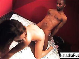 raunchy romp with Natasha nice and Tee Reel