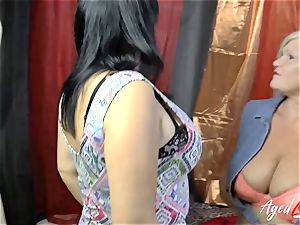 AgedLovE Lacey Starr likes gonzo threeway