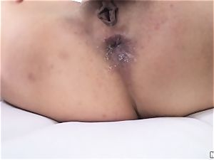 chinese sweetie Marica Hase torn up in the backside