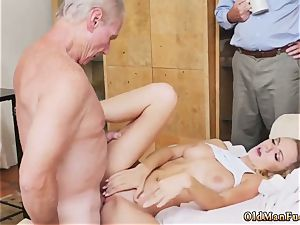 ash-blonde honey hd and yam-sized melon milf buttfuck drizzle It took some wooing, but the studs were