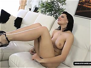 Russian Masha More Has a audition with gonzo buttfuck hookup