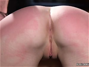 hot victim rigid whipped and caboose paddled
