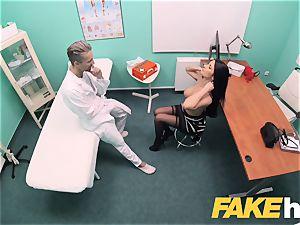 faux medical center big tits polish babe Ania Kinski
